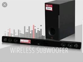 Lg sound bar wireless sub