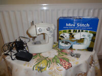 A Small Electric Sewing Machine brand new only used once