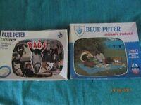 Nostalgic - A pair of Blue Peter Jigsaws