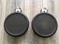 2x Roland PD-8 Pad for Electronic V Drum