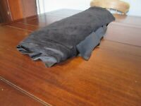 Roll Of Black Suedette Fabric 150cm Wide x Aprox 10 Meters