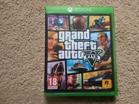 Grand Theft Auto 5 game for Xbox One