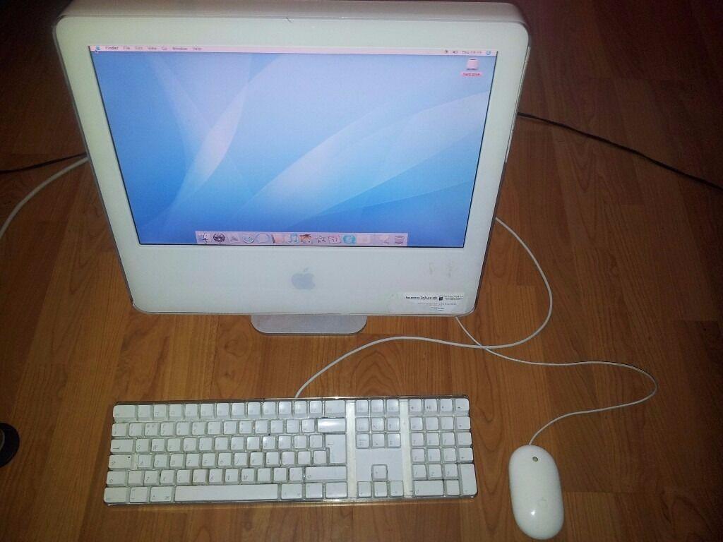 Apple Imac G5 A1058 1 6ghz 2gb Ram 160gb Hdd Geforce Fx
