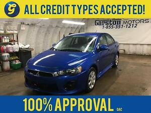 2016 Mitsubishi Lancer SE*CVT*PHONE CONNECT*TRACTION CONTROL*HEA