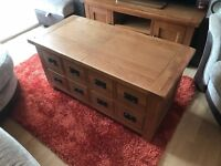 Brand New Harvey's Toulouse Storage Coffee Table