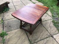 Oak Folding coffee table