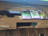 Xbox 360 Kinect sensor with 3 games