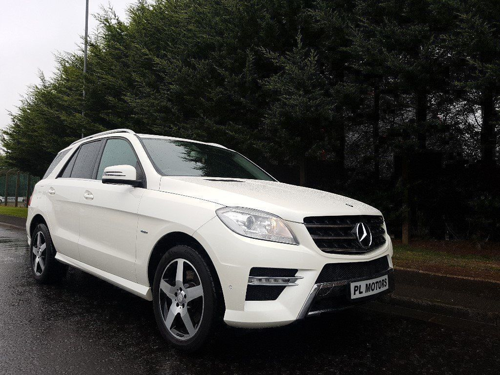 march 2012 mercedes ml 250 cdi bluetec sport automatic diamond white nappa leather nav stunning. Black Bedroom Furniture Sets. Home Design Ideas