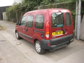 2006 Renault Kangoo 1.6, Automatic, WHEELCHAIR ADAPTED