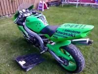 Kawasaki zxr 600 swaps or sale motorcross bike