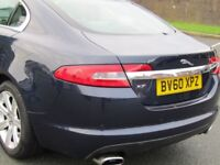 JAGUAR XF LUXURY 3.0 DIESEL, EXCELLENT CONDITION, MOTORWAY MILEAGE , FULL SERVICE HISTORY