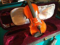 Archer Swift Intermediate Violin in Case - Never Been Used