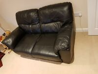 Used set of 2 seater sofas. Black colour, only pick up.