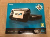 Nintendo Wii U console 32gb Premium edition with Nintendoland
