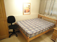 Double room for single person available, in a big house, 5min walk to Barons Court Station
