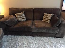 Sofa and 2 Snuggle Chairs
