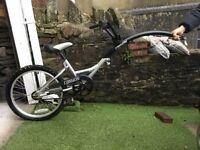 Folding trail bike
