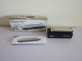 Harmonica IAN 91865 in original box C Major Made in Germany Z28465