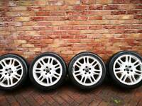 Volvo 17inch alloys with 225 45 17 tyres
