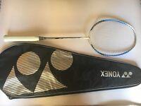 New Yonex badminton racquet with case