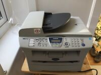 Brother MFC-7420 black and white laser printer, FREE to collector.
