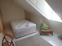 Lovely Large Double Attic Room in 4-Bed Professional Houseshare - No Deposit