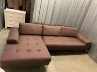 FREE DELIVERY large corner sofa