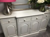 Very attractive French style grey sideboard