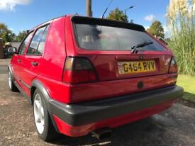 VW Golf GTI 1.8 8v 1990 mk2 big bumper edition