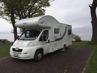 6 berth Motorhome for Hire from £800 per week