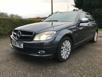 Mercedes c200 petrol sport kompressor auto 2008 leather,navigation etc p-ex welcome,aa/rac welcome