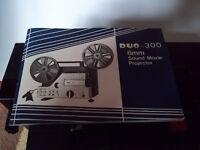 Super 8mm sound film projector