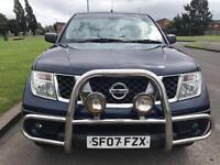 Nissan Navara 2007 2.5dci double cab bargain part x good miles