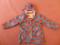 Lovely 'Hatley' ladybird design raincoat - age 6