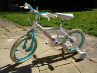 Girls bike age 3-7 riden once