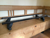 VW Golf Footings and Mount Blanc roof bars