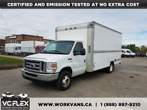 2010 Ford E-350 16Ft 5.4L V8 Gas Cube Van