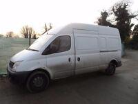 Ldv Maxus 2.5 Euro 3 , 2006, Five wheel bolts , Breaking the whole van