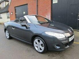 2011 RENAULT MEGANE HARD TOP CONVERTIBLE SAT NAV 1.4 IMMACULATE Part exchange available / All cards
