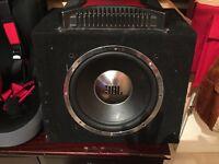 JBL Sub & Sony 600w Amp