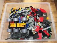 6kg box of Lego compatible bricks