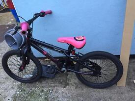 "Girls 18"" wheel bmx bike"