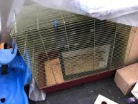 Large parrot / cockatiel cage rctangle shape £45