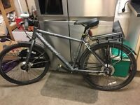 "18"" frame hybrid bike for sale"