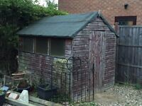 Garden shed 8' x 6' tongue and groove construction good quality