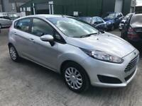 FORD FIESTA 1.5 TDCI STYLE 5DR 74bhp (silver) 2013