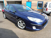 2005 (05) Peugeot 407 2.0 Hdi 136 BHP DIESEL 4dr Saloon, Manual - Long MOT to April 2018