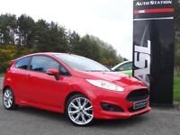 FORD FIESTA 1.0 EcoBoost 125 Zetec S (red) 2014