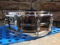 """Tama metalworks 14 x 5 """" black nickel snare drum"""