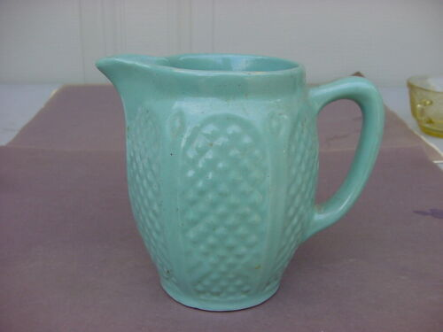 VINTAGE ROBINSON RANSBOTTOM CROWN POTTERY PITCHER